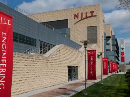 Photo of the NJIT campus center