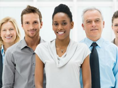 stock photo of a group of professionals